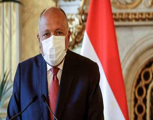 وزير الخارجية المصري يلتقي نظيره الإسرائيلي في بروكسل