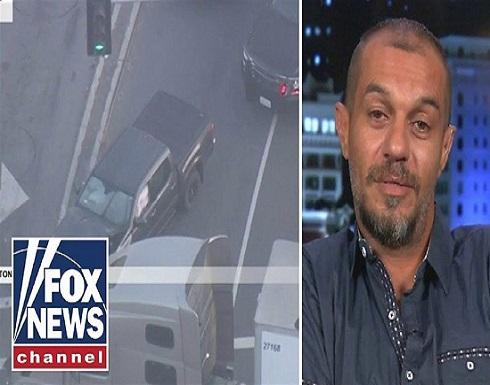 بالفيديو.. حيلة سائق عربي للقبض على قاتل بعد فشل 40 سيارة شرطة أمريكية