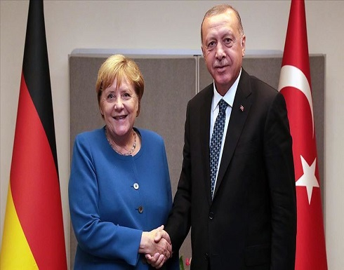 أردوغان لميركل: على أوروبا العدل في شرق المتوسط