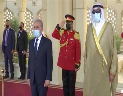 في استقبال اشتية.. أمير الكويت يؤكد أولوية قضية فلسطين لبلاده