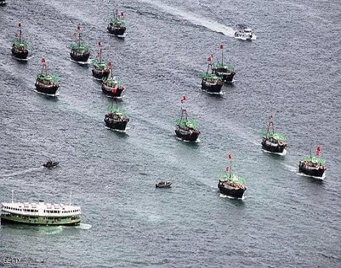"""سفن صيد صينية تثير """"حربا على تويتر"""" بين واشنطن وبكين"""