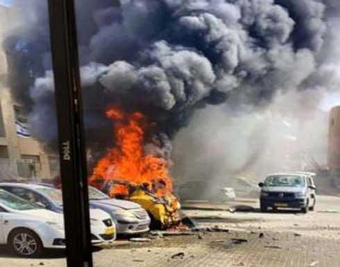 أضرار كبيرة للاحتلال جراء سقوط صواريخ للمقاومة على أسدود .. بالفيديو