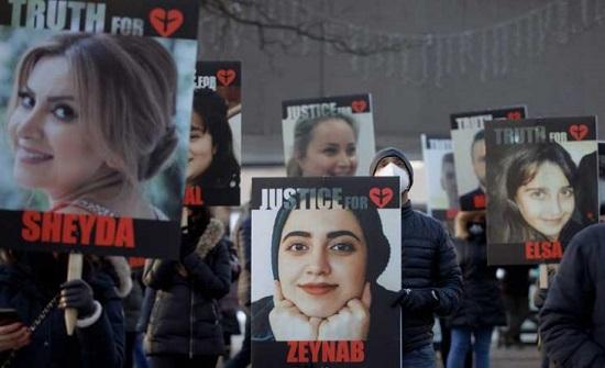 كنديون يحيون الذكرى الأولى لمقتل ذويهم بإسقاط طائرة أوكرانية في إيران- (صور)