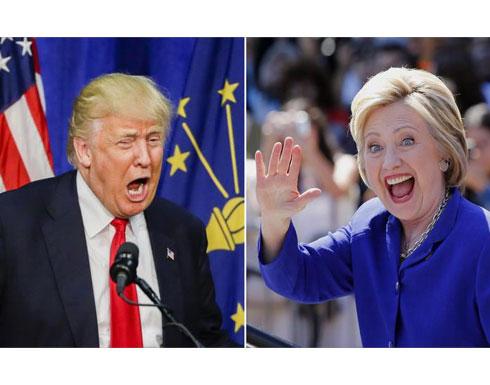 الفجوة ضئيلة بين ترامب وكلينتون رغم الفضائح