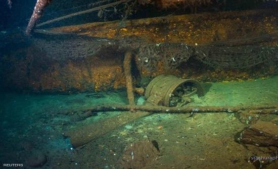 العثور على سفينة غرقت بالحرب العالمية الثانية