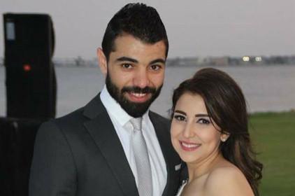 ممثلة شابة تطلب الطلاق من زوجها بسبب يسرا