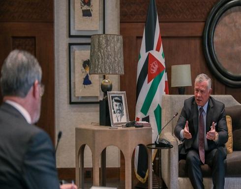 """الملك يجري مقابلة مع وكالة الأنباء الأردنية  .. """"نص المقابلة """""""