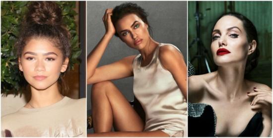 """من أنجلينا جولي إلى إيرينا شايك.. إليك أجمل تسريحات """"شينيون"""" النجمات"""