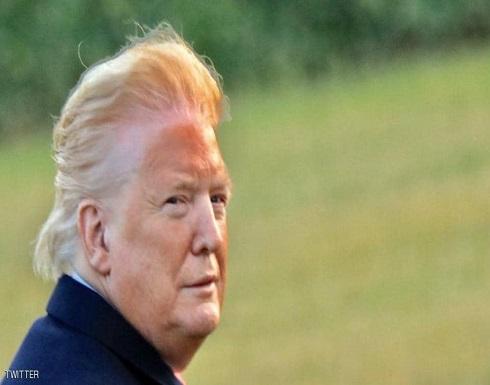 """ترامب يعلق على """"الصورة البرتقالية"""": يحاولون الحط من قدري"""