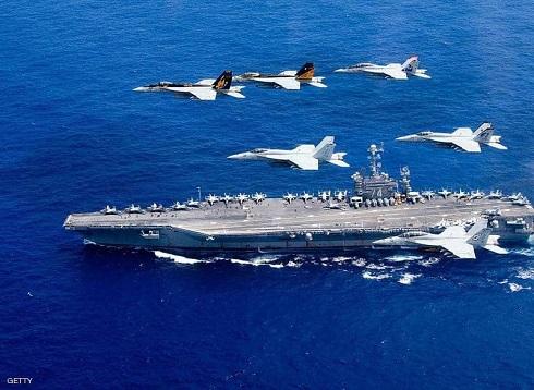 أميركا ترسل مقاتلات وحاملة طائرات إلى الشرق الأوسط