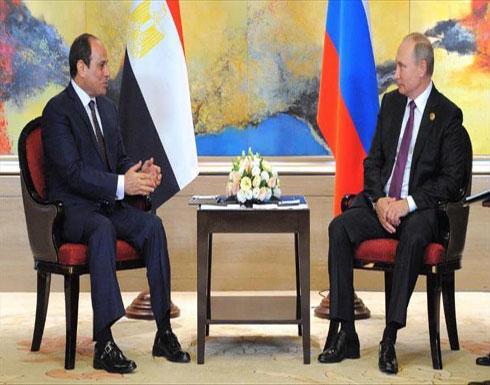 بوتين يلتقي السيسي في روسيا الأسبوع المقبل