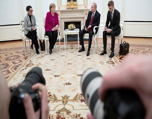 بوتين وميركل: حان الوقت لمحادثات سلام ليبية في برلين