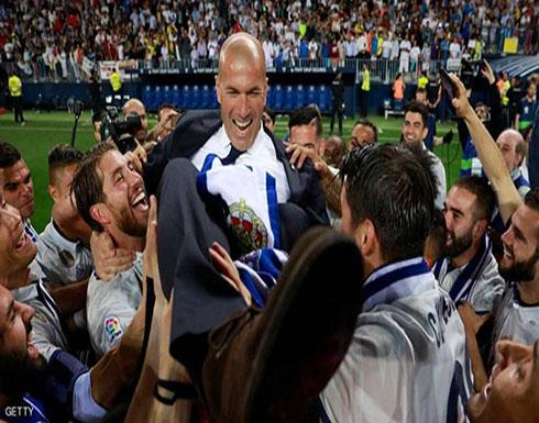 مكالمة هاتفية قد تعيد زيدان إلى ريال مدريد
