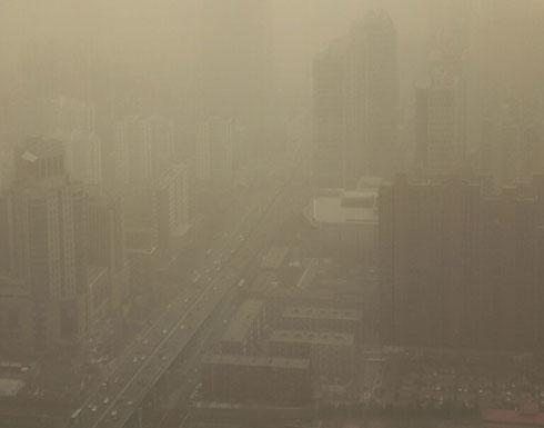 بالفيديو .. عاصفة رملية قوية تضرب 12 مقاطعة شمالي الصين
