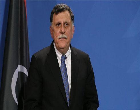 السراج والسفير الأمريكي بتركيا يؤكدان على أهمية مؤتمر برلين