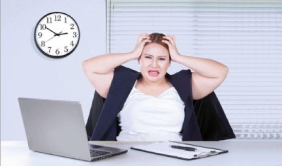 عندما يكون التوتر وغيره سبب زيادة الوزن...