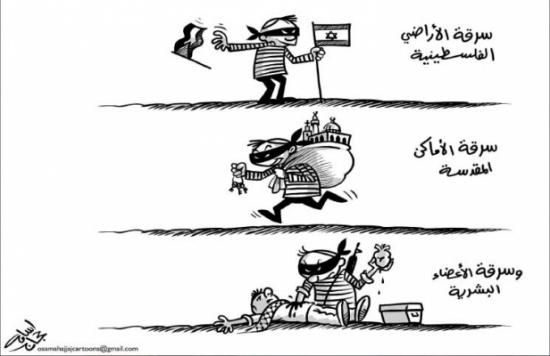 سرقة الأراضي الفلسطينية!