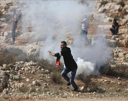 إصابات خلال تفريق الجيش الإسرائيلي مسيرات في الضفة الغربية