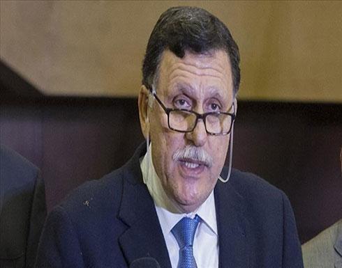 السراج يصل تونس غداة هبوط مقاتلة تابعة لحفتر اضطراريًا