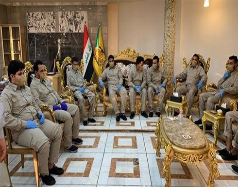 """الإفراج عن 14 مقاتلاً من """"كتائب حزب الله"""" الموالي لإيران في العراق"""