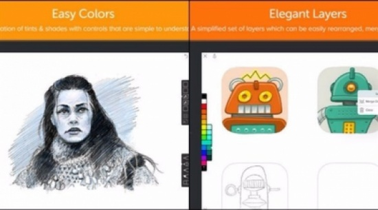 Linea.. تطبيق رسم مميز لآيباد يعتمد على البساطة