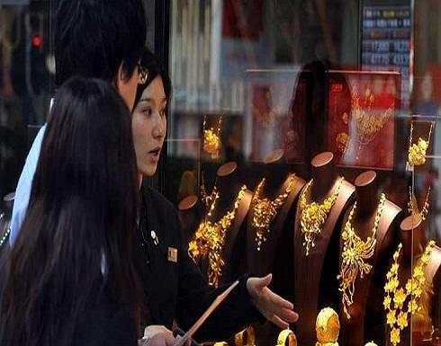 انخفاض أسعار الذهب مع تعافي الدولار