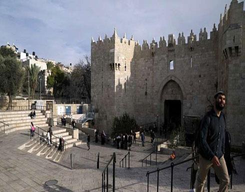 إسرائيل تنشئ غرفة مراقبة جديدة على مدخل باب العامود