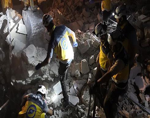 بالفيديو : سوريا.. مقتل 5 مدنيين في غارات للنظام على إدلب