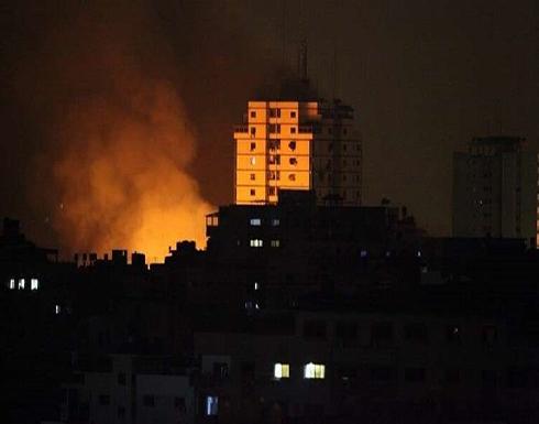 الطيران الإسرائيلي يقصف حي الشجاعية في قطاع غزة