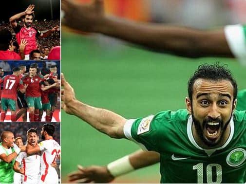 شاهد.. تغريدة لمحمد صلاح تتصدر تويتر في يوم تاريخي: كأس العالم بنكهة عربية