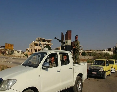 مقتل 7 جنود سوريين وإصابة 3 آخرين بانفجار عبوة ناسفة بسيارتهم في درعا