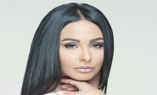 تمارين شاقة..  الاردنية ميس حمدان تستعرض رشاقتها في الجيم