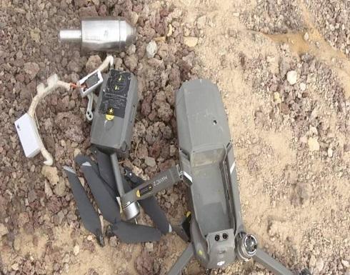 """الجيش اليمني يسقط مسيرتين حوثيتين مفخختين """"إيرانيتي الصنع"""""""