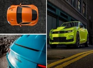 ألوان طلاء السيارات الأكثر جنوناً في 2019