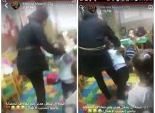 """بالفيديو.. وصلة تعذيب """"طفلة"""" داخل حضانة بالإسكندرية"""
