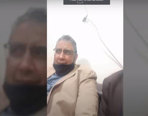 شاهد : الافراج عن الصحفي محمود حسين في مصر