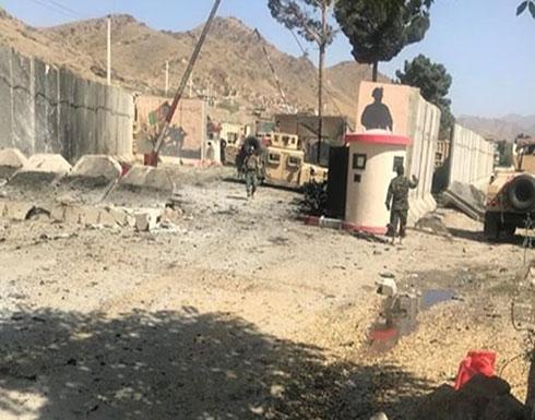 """بالصور : انفجار يستهدف قاعدة عسكرية في كابول.. و""""طالبان"""" تتبنى"""