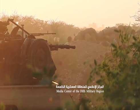مصرع عشرات الحوثيين وتدمير آليات عسكرية في مأرب وحجة .. بالفيديو