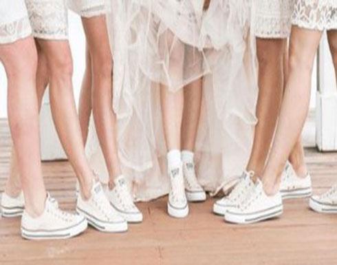 موديلات أحذية الزفاف الرياضية
