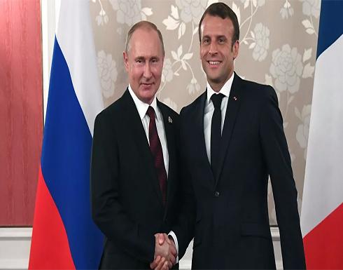 بوتين وماكرون يبحثان قره باغ والقضايا الثنائية