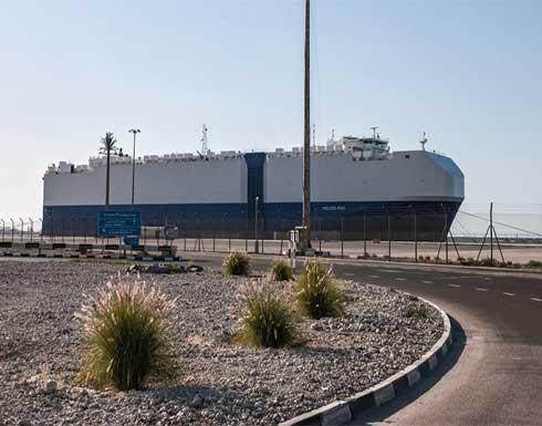 إسرائيل : السفينة لم تتعرض لأضرار وواصلت مسارها بشكل طبيعي