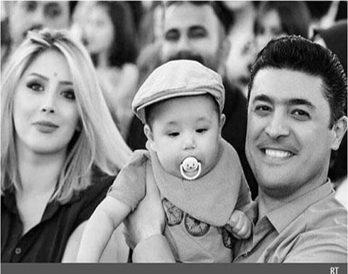 بالصور : اغتيال إعلامي كردي وزوجته وطفله الصغير على يد مجهولين في العراق