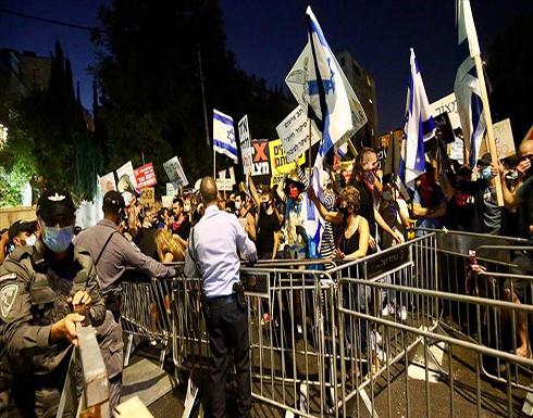 سلسلة تظاهرات في إسرائيل للمطالبة باستقالة نتنياهو .. بالفيديو