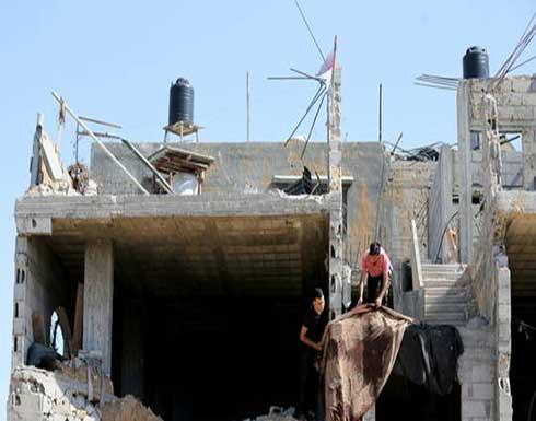 مسؤول فلسطيني: غزة ستباشر إعادة بناء المنازل التي تعرضت للدمار بالقصف الإسرائيلي