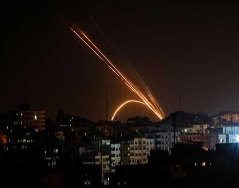 """هلع بمستوطنة """"سديروت"""" بعد إطلاق صاروخ من قطاع غزة .. بالفيديو"""