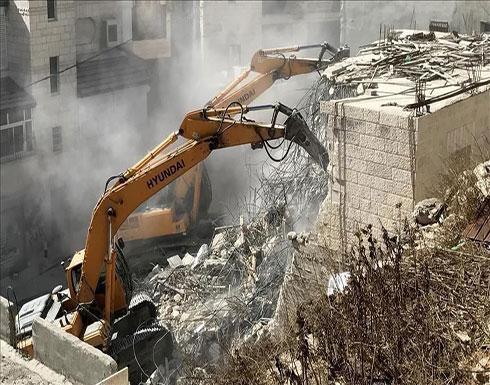 """""""الخارجية الفلسطينية"""": هدم المنازل جريمة حرب وفق """"الجنائية الدولية"""""""