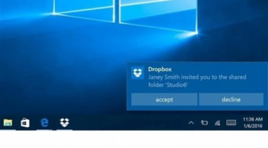 """دروب بوكس يطلق إصداراً جديداً لأجهزة """"ويندوز 10"""""""