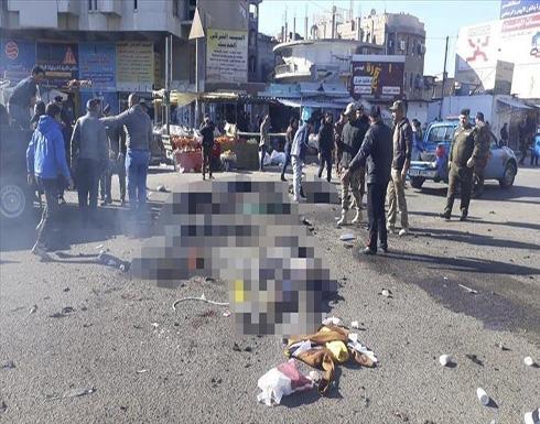 الجيش العراقي: مواطنان وراء تفجير بغداد المزدوج