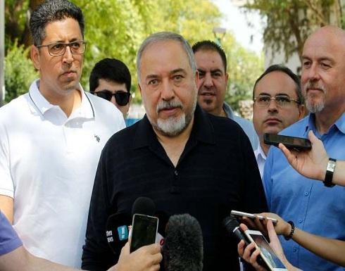 """ليبرمان للغزاويين:"""" المساعدات الإنسانية مقابل طردكم """" حماس″"""