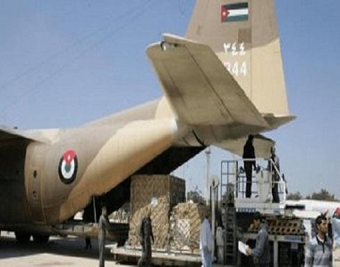طائرة عسكرية أردنية محملة بالأطقم والمعدات الطبية  الى الكويت لمكافحة كورونا